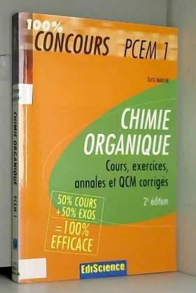 Chimie organique PCEM 1 :...
