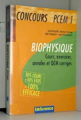 Biophysique : Cours,...