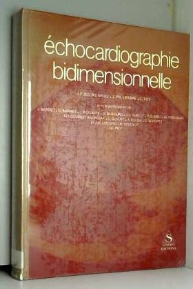 j ph lesbre jp bourdarias - echocardiographie bidimensionnelle