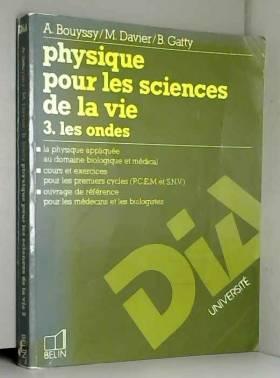 Physique pour  les sciences...