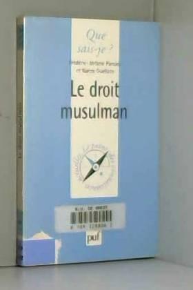 Le Droit musulman