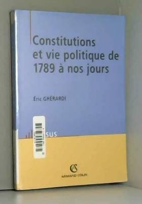 Constitutions et vie...