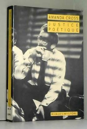 Amanda Cross et Franck Reichert - Justice poétique