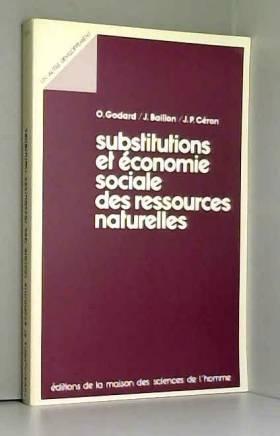 Godard et Baillon - Substitutions et économie