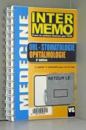 Câlin Lazar et Violaine Caillaux - ORL- Stomatologie Ophtalmologie
