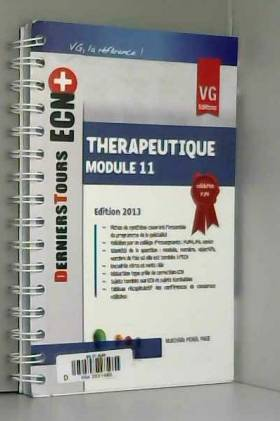 Mathilde Penel Page et Denis Vital Durand - Thérapeutique : Module 11