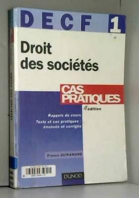 France Guiramand - DECF, tome 1 : Droit des sociétés
