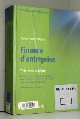 Finance d'entreprise :...