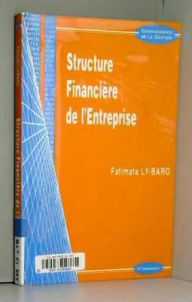 F. Ly-Baro - Structure financiere de l'entreprise