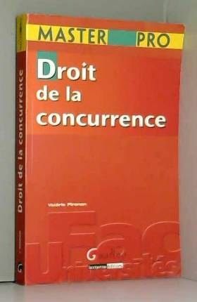 Valérie Pironon - Droit de la concurrence