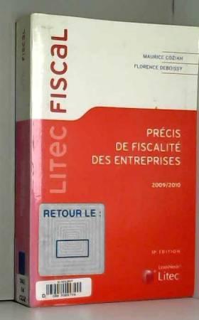 Maurice Cozian - Précis de fiscalité des entreprises 2009-2010 (ancienne édition)