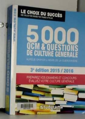 5000 QCM de culture...