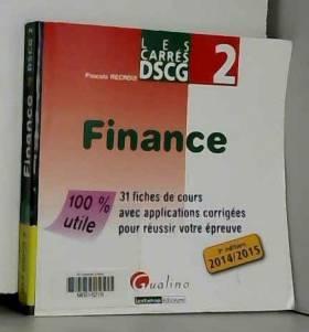 Pascale Recroix - Carres DSCG 2 Finance
