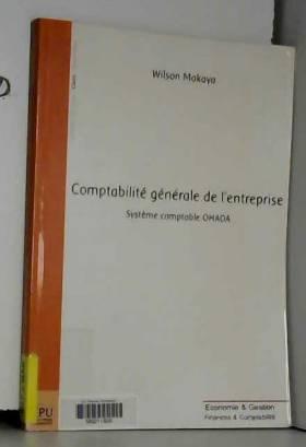 Wilson Makaya - Comptabilité générale de l'entreprise