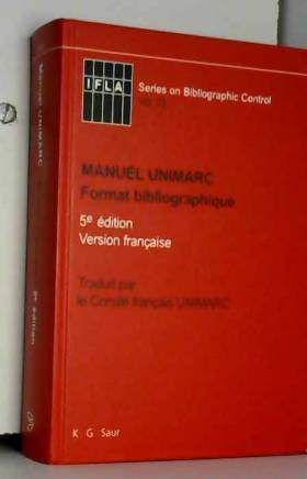 Manuel Unimarc. Format...