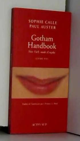 Doubles-jeux : Gotham...