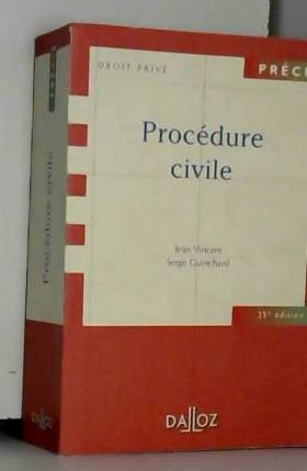 PROCEDURE CIVILE. 25ème...