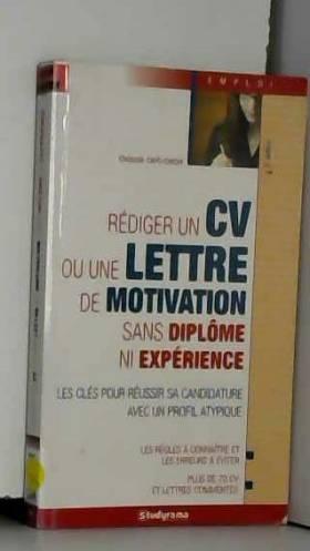 Rédiger un CV ou une lettre...