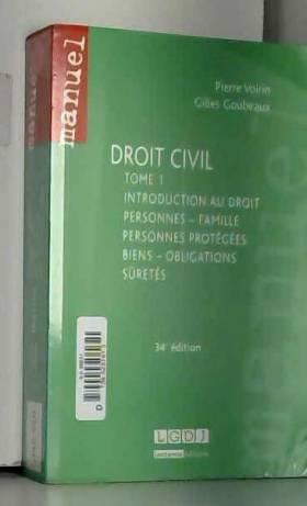 Droit civil T1: personnes,...