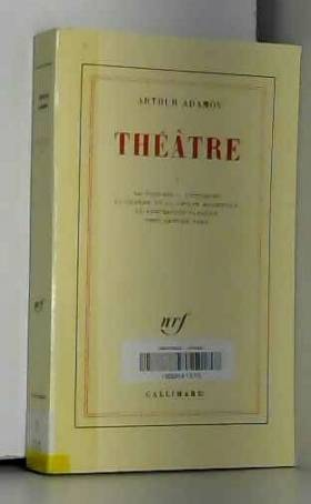 Théâtre, tome 1: LaParodie...