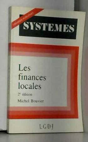 Michel Bouvier - Les finances locales