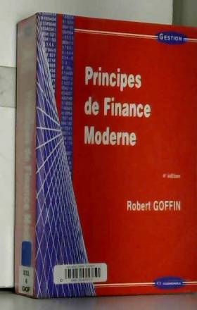 Robert Goffin - Principes de finance moderne