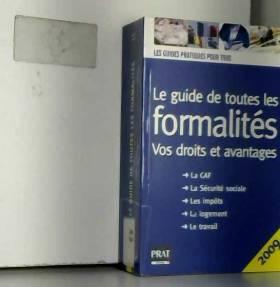 Editions Prat et Sylvie Peylaboud - Le guide de toutes les formalités