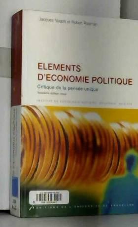 Eléments d'économie...