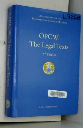 Santiago Onate Laborde, Donata Rugarabamu,... - OPCW: The Legal Texts