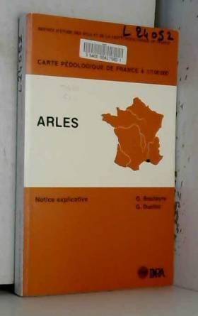 QUAE - CARTE PEDOLOGIQUE DE FRANCE A 1/100 000 ARLES