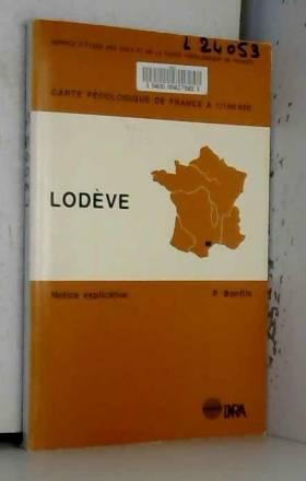 QUAE - CARTE PEDOLOGIQUE DE FRANCE A 1/100 000 LODEVE