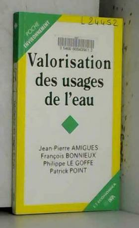 J.-P. Amiques - Valorisations des usages de l'eau