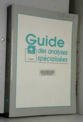 Laboratoire CERBA - Guide des analyses spécialisées