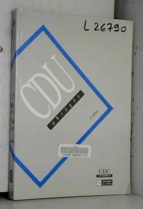 UDC Consortium - Classification décimale universelle