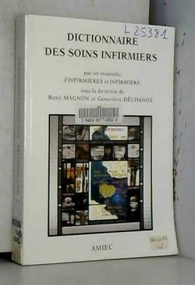 Dictionnaire des soins...