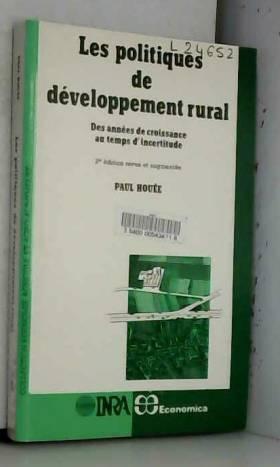 P. Houée - Les Politiques de développement rural