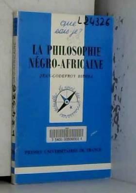 La philosophie négro-africaine