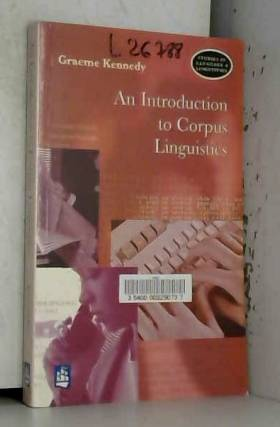 Graeme Kennedy - An Introduction to Corpus Linguistics