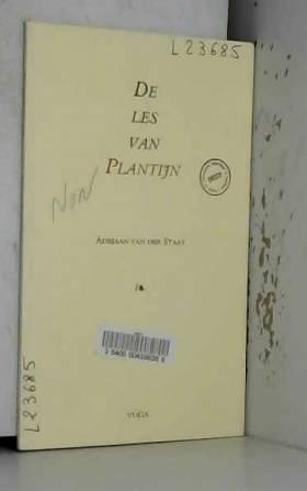 De les van Plantijn: Rede (Dutch Edition)
