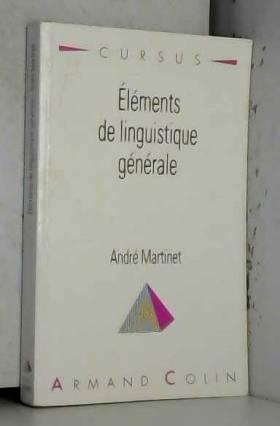 Eléments de linguistique...