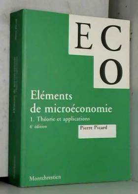 Eléments de microéconomie....
