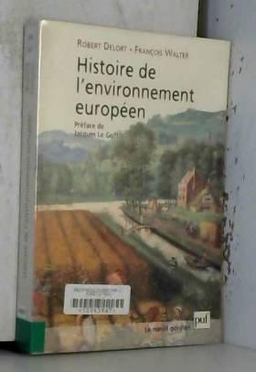 Histoire de l'environnement...