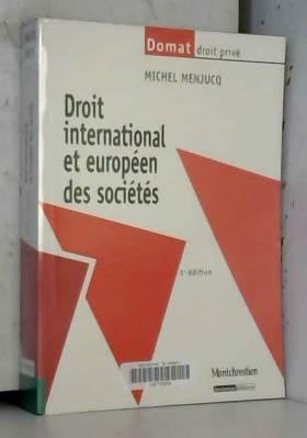 Droit international et...