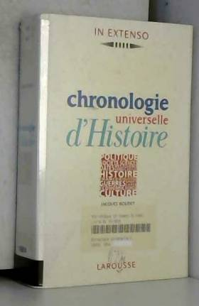 Chronologie universelle...