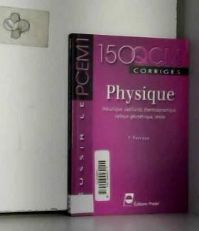 Physique - Mécanique,...