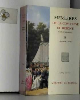 Mémoires de la comtesse de...