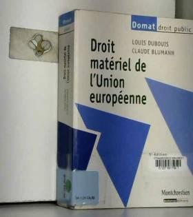 Droit matériel de l'Union...