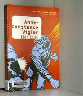Anne-Constance Vigier - Héritage