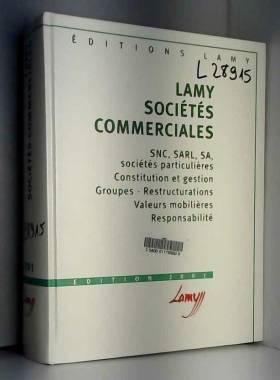 Jacques Mestre, Christine Blanchard-Sébastien... - Sociétés commerciales. Edition 2001