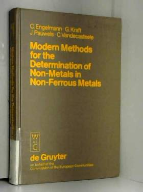 Modern methods for the determination of non-metals in non-ferrous metals: Applications to...